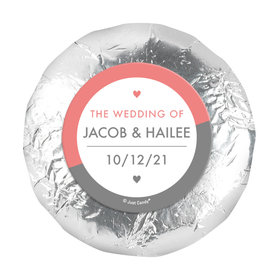"Personalized Wedding Everlasting Love 1.25"" Stickers (48 Stickers)"