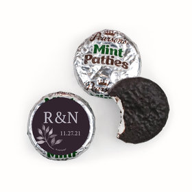 Personalized Wedding Everlasting Elegance Pearson's Mint Patties