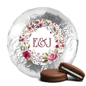 Personalized Wedding Flowering Affection Chocolate Covered Oreos (24 Pack)