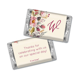 Personalized Blooming Bouquet Wedding Hershey's Miniatures