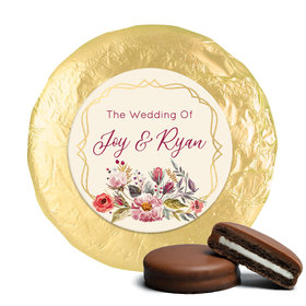 Personalized Wedding Blooming Bouquet Chocolate Covered Oreos