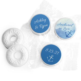 Personalized Anchored in Love LifeSavers Mints