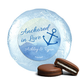 Personalized Wedding Anchored in Love Chocolate Covered Oreos