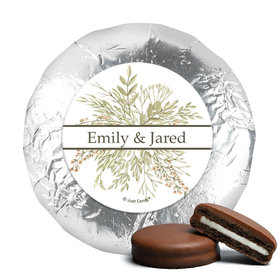 Personalized Wedding Wildflower Bouquet Chocolate Covered Oreos (24 Pack)