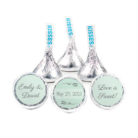 Personalized Wedding Wishes Hershey's Kisses (50 pack)