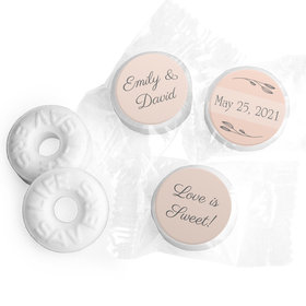 Personalized Wedding Wishes LifeSavers Mints