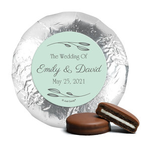 Personalized Wedding Wishes Chocolate Covered Oreos (24 Pack)