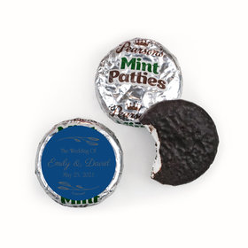 Personalized Wedding Wishes Pearson's Mint Patties