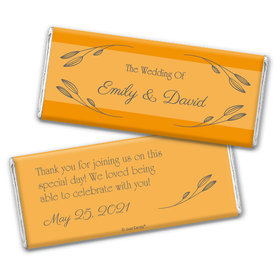 Personalized Wedding Wishes Chocolate Bars