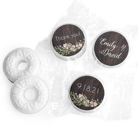 Personalized Rustic Romance LifeSavers Mints