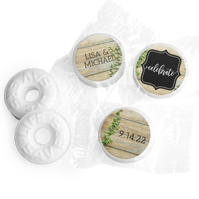Personalized Wedding Vines of Love LifeSavers Mints