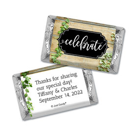 Personalized Vines of Love Wedding Hershey's Miniatures