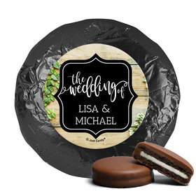 Personalized Wedding Vines of Love Chocolate Covered Oreos