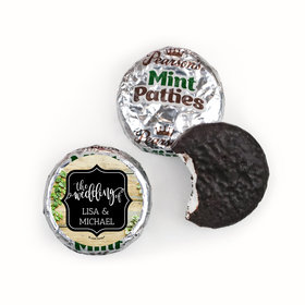 Personalized Wedding Vines of Love Pearson's Mint Patties