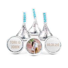 Personalized Wedding Farmhouse Frame Hershey's Kisses (50 pack)