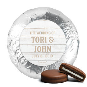 Personalized Wedding Farmhouse Frame Chocolate Covered Oreos