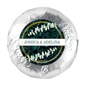 """Personalized Wedding Enchanting Bloom 1.25"""" Stickers (48 Stickers)"""