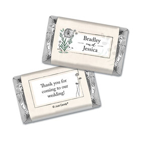 Personalized Romantic Flora Mini Wrappers Only