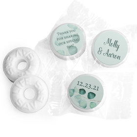 Personalized Life Savers Mints - Wedding Peaceful Eucalyptus