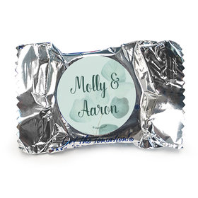 Wedding Favor Personalized York Peppermint Patties Peaceful Eucalyptus