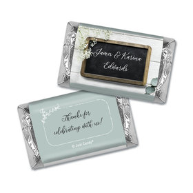 Personalized Chalkboard Lettering Wedding Hershey's Miniatures
