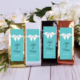 Personalized Wedding Columbian Coffee - Tiffany Style