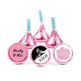 Personalized Wedding Reception One Heart Hershey's Kisses (50 pack)