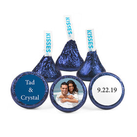 Personalized Wedding Reception Photo Hershey's Kisses (50 pack)