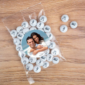 Personalized Wedding Candy Bag with JC Chocolate Minis - Add your Photo