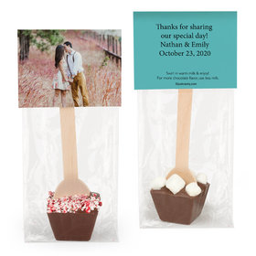 Personalized Wedding Add Your Photo Hot Chocolate Spoon