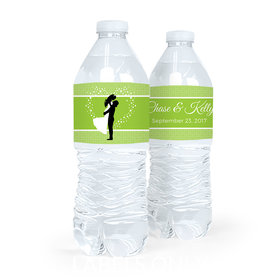 Personalized Wedding To Have & Hold Water Bottle Sticker Labels (5 Labels)