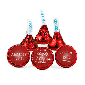 Personalized Wedding Reception Happily Ever After Hershey's Kisses (50 pack)