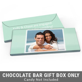 Deluxe Personalized Photo Engagement Candy Bar Cover