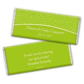 Covered with HappinessEngagement Favors Personalized Candy Bar - Wrapper Only