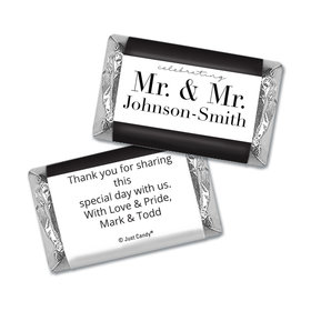 Personalized Mini Wrappers Only - Gay Wedding To Have & to Hold