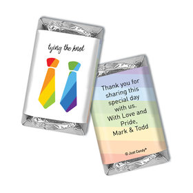 Personalized Mini Wrappers Only - LGBT Wedding Tying the Knot