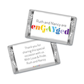 Personalized Mini Wrappers Only - LGBT Wedding We're enGAYged