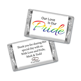 Personalized Mini Wrappers Only - LGBT Wedding Love & Pride