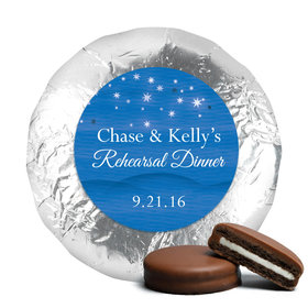 Starlit Evening Milk Chocolate Drenched Oreo Cookies Assembled (24 Pack)