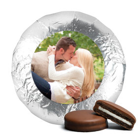 Rehearsal Dinner Cute Pic Belgian Chocolate Covered Oreo Cookies Assembled (24 Pack)