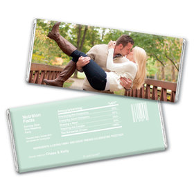 Rehearsal Dinner Personalized Chocolate Bar Full Photo
