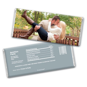 All About The Rehearsal Dinner Favor Personalized Candy Bar - Wrapper Only