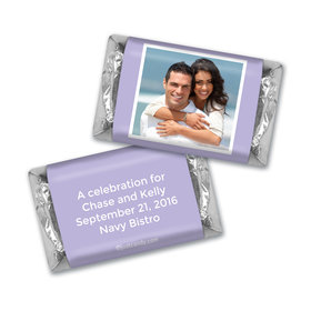 Personalized Candy Bar & Wrapper Rehearsal Dinner Snapshot Party Favor Hershey's Miniatures