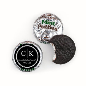 Rehearsal Dinner Personalized Pearson's Mint Patties Monograms
