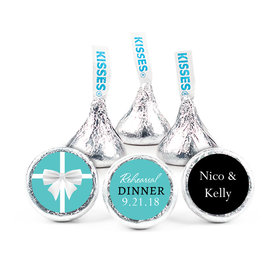 "Little Blue Box Rehearsal Dinner 3/4"" Sticker (108 Stickers)"