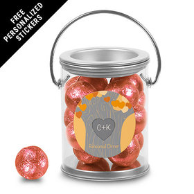Rehearsal Dinner Personalized Paint Can Tree of Love (25 Pack)