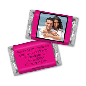 Wedding Save the Date Personalized HERSHEY'S MINIATURES Wrappers