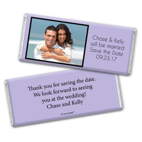 Wedding Save the Date Personalized Chocolate Bar