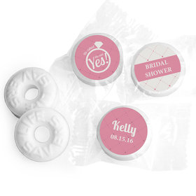The Rock Personalized Bridal Shower LIFE SAVERS Mints Assembled