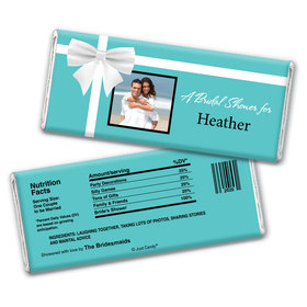 Memories Begin Here Shower Favors Personalized Candy Bar - Wrapper Only